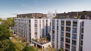 Apartamenty Bergera w Poznaniu - wizualizacja