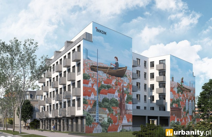 Wizualizacja inwestycji przy Gdańskiej 1 we Wrocławiu
