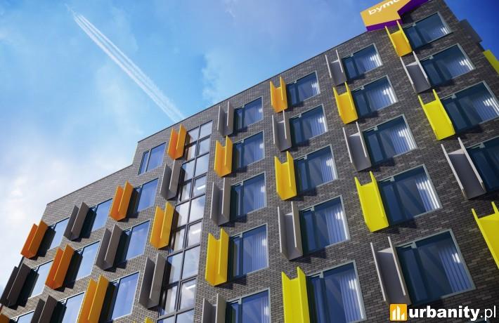 Aparthotel Legnicka 60C we Wrocławiu - wizualizacja (fot. By Made)