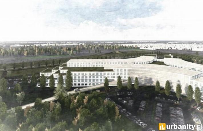 Koncepcja nowego Szpitala Onkologicznego we Wrocławiu