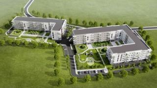 Cukrownia Apartamenty w Szczecinie - wizualizacja
