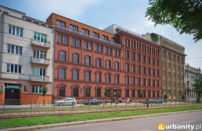 Zabytkowy kompleks dawnych tkalni w Łodzi - projekt rewitalizacji