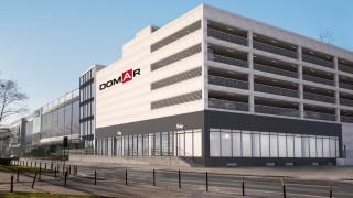 Wizualizacja parkingu samochodowego galerii Domar