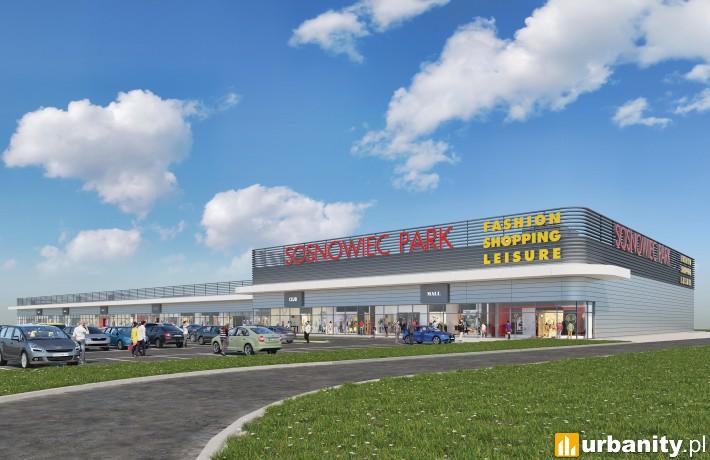 Retail Park Sosnowiec - wizualizacja