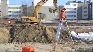 Prace na budowie inwestycji w Luboniu