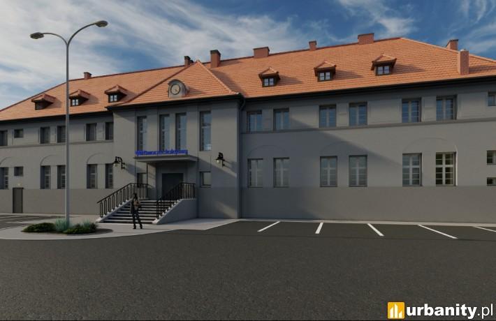 Dworzec Olesno Śląskie - wizualizacja