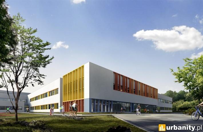 Projekt szkoły przy ulicy Dzieci Warszawy 42 w Warszawie