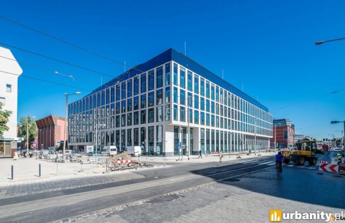 Biurowiec Nobilis Business House tuż przed oddaniem do użytku