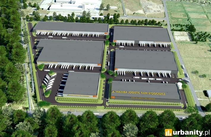 Waimea Logistic Park Bydgoszcz - wizualizacja
