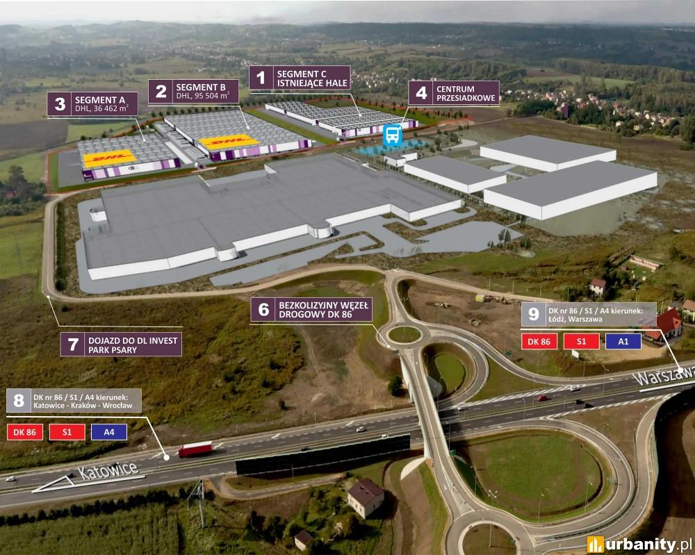 DL Invest Park Psary - proekologiczne centrum logistyczne w woj. śląskim