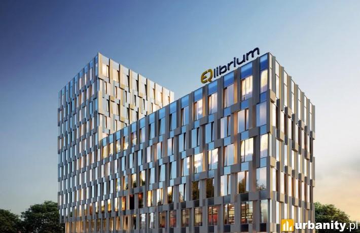 Projekt biurowca EQlibrium w Warszawie