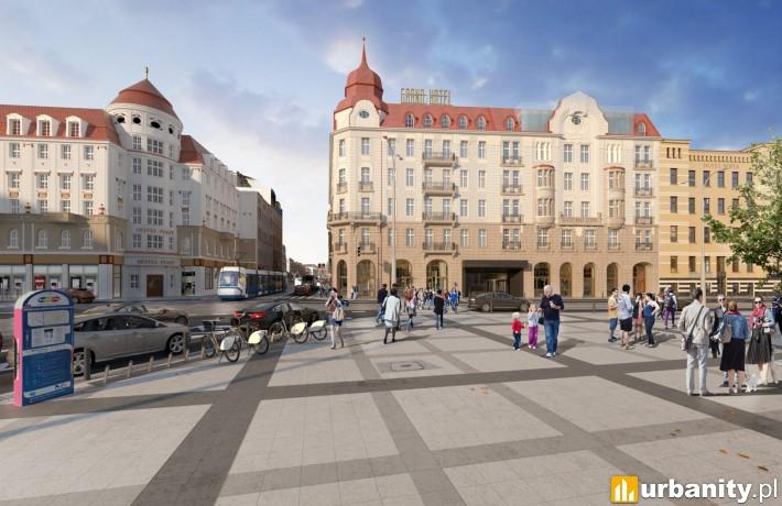 Projekt rewitalizacji Hotelu Grand w centrum Wrocławia
