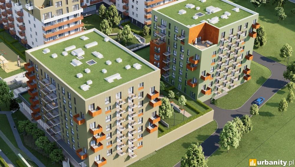 Bronowice w Krakowie z kolejnymi mieszkaniami osiedla Mieszkaj w Mieście