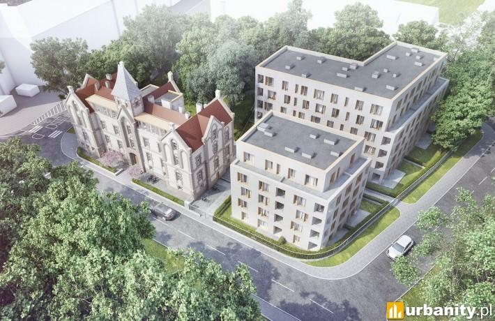 Ogrody Graua we Wrocławiu - wizualizacja