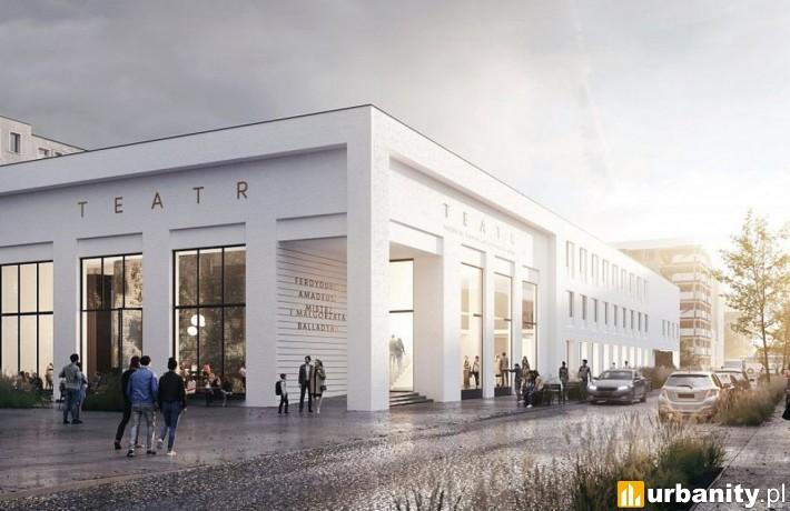 Projekt przebudowy Teatru Miejskiego w Gdyni