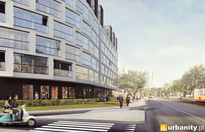Projekt osiedla Wola Libre w Warszawie