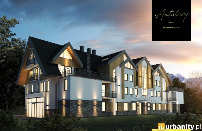 Antalovy Apartamenty Zakopane - wizualizacja