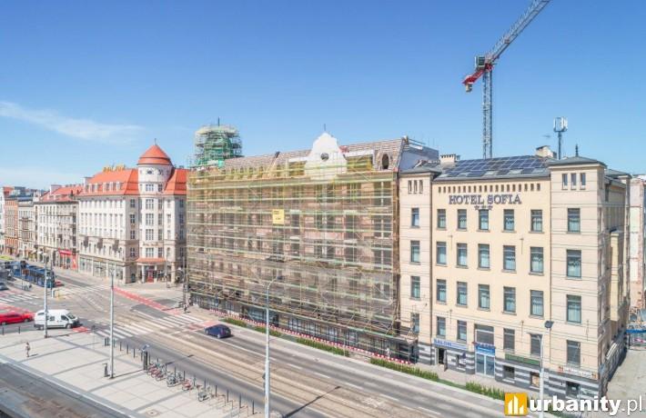 Tak obecnie wygląda dawny hotel Grand (fot. wroclaw.pl)