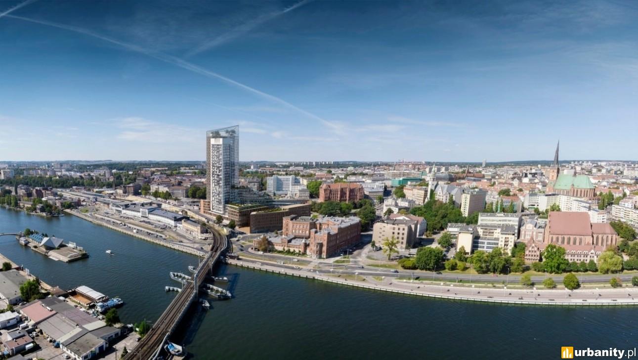 120-metrowy wieżowiec w centrum Szczecina? Jest koncepcja
