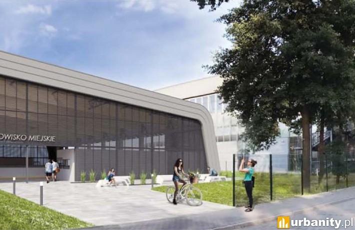 Projekt nowej hali lodowiska miejskiego w Legionowie