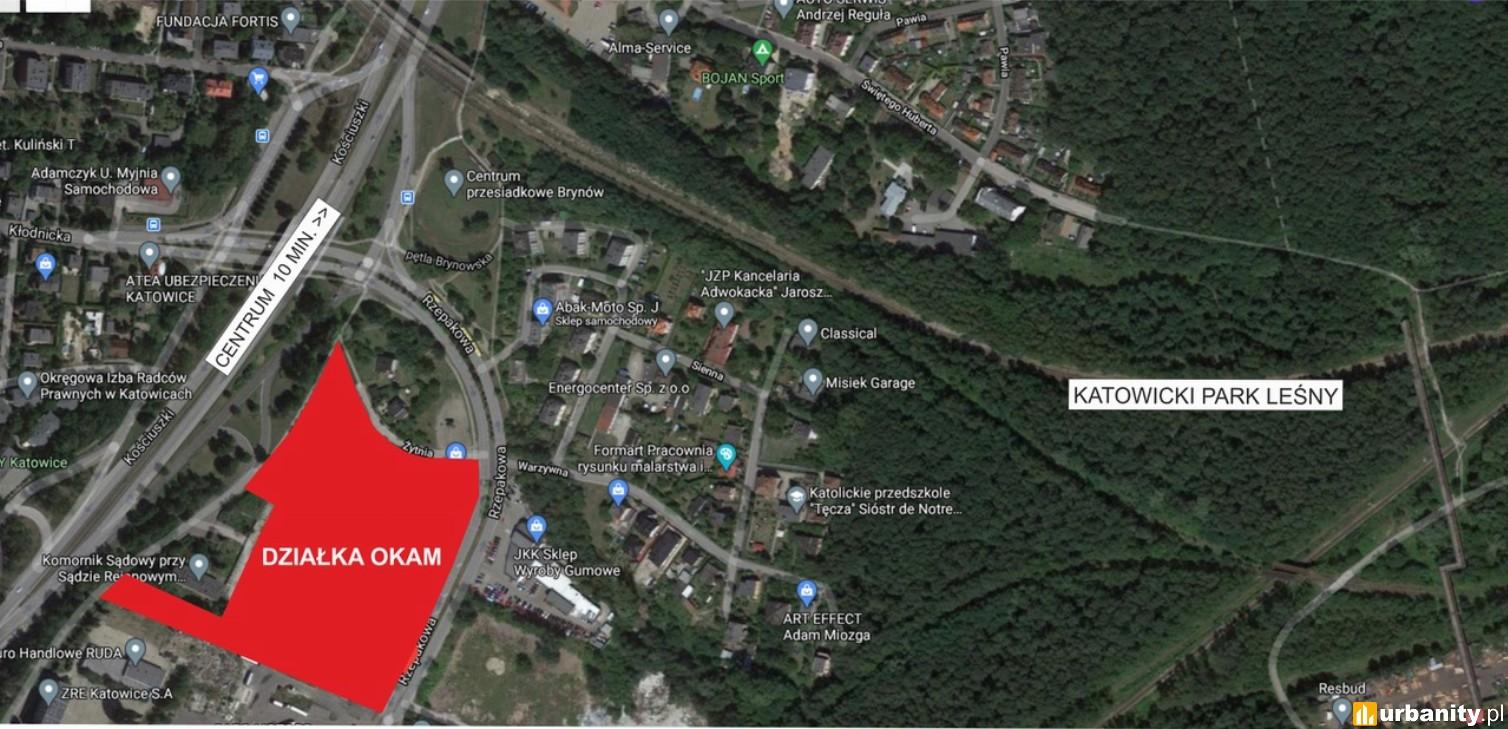 Okam poszerza swój bank ziemi w Katowicach