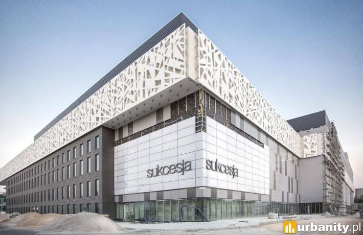 Centrum handlowe Sukcesja w budowie