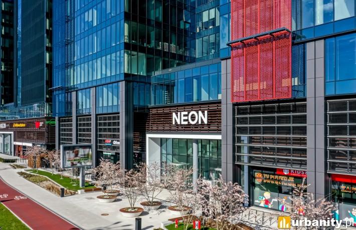 Biurowiec Neon w kompleksie Alchemia
