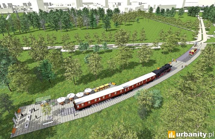 Koncepcja inwestycji Park Rataje w Poznaniu