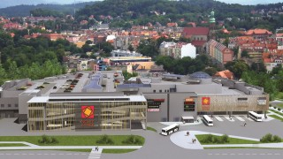 Wizualizacja centrum handlowego Nowy Rynek w Jeleniej Górze