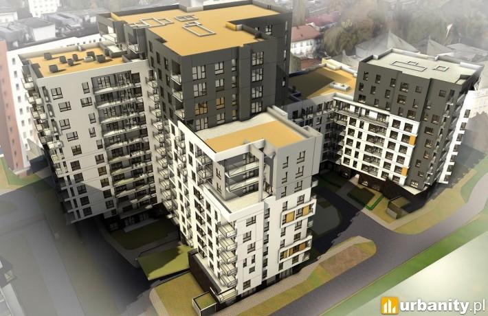 Projekt kolejnego etapu warszawskiego osiedla City Link