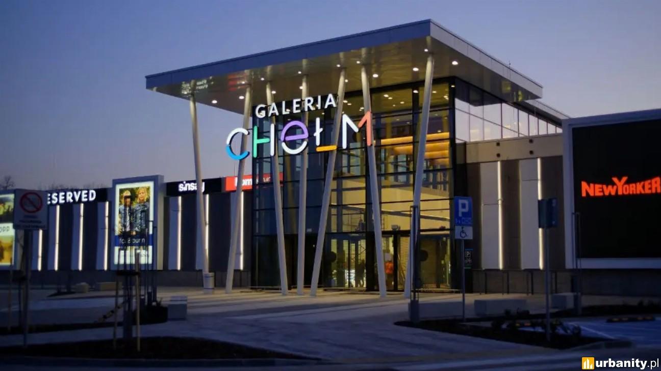 Certyfikat dla otwartej w marcu Galerii Chełm