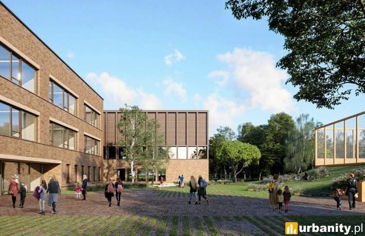 Projekt szkoły podstawowej w Miasteczku Wilanów