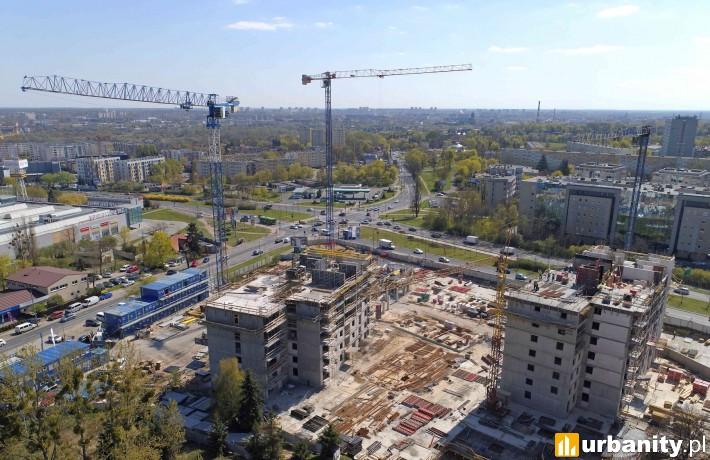 Nowych Kosmonautów - stan budowy na kwiecień 2019 r.