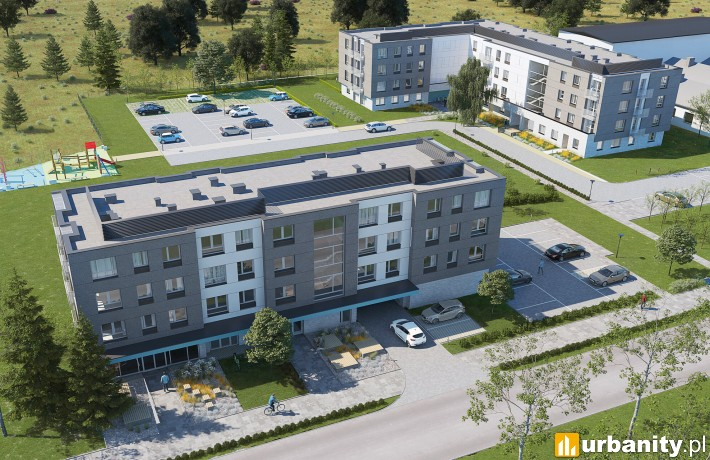 Projekt Osiedla Meteos we Wrocławiu