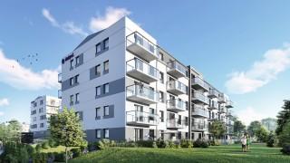 Osiedle Pastelowe w gdańsku - wizualizacja