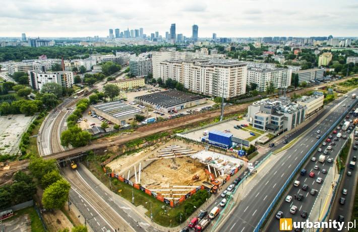 Stan budowy inwestycji Vector+ w Warszawie