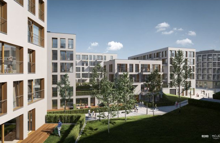 Projekt inwestycji Moje Miejsce w Warszawie