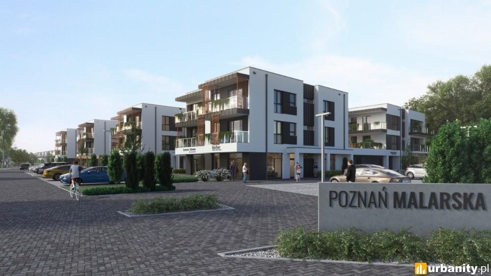 Powstaje ponad 400 mieszkań i domów na granicy Poznania i Szczytnik