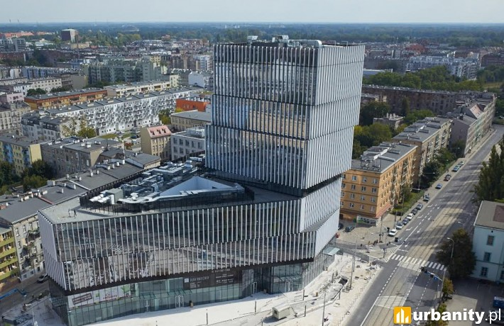 Budynek Silver Tower Center w centrum Wrocławia