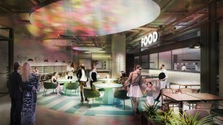 Strefa Sky Kitchen w Sky Tower - wizualizacja