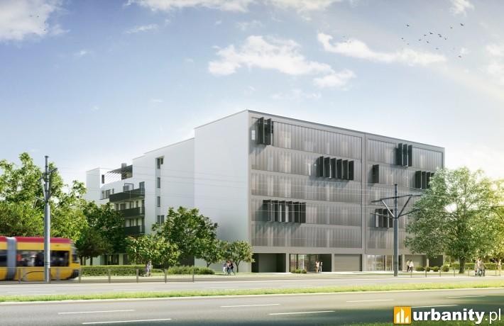 Apartamenty Marymoncka II - wizualizacja