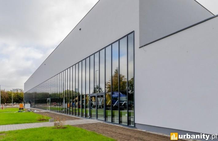 Nowa hala sportowa we Wrocławiu (fot. Tomasz Hołod)
