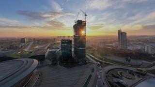Postęp prac na budowie .KTW II - grudzień 2020 r. (fot. TDJ Estate)