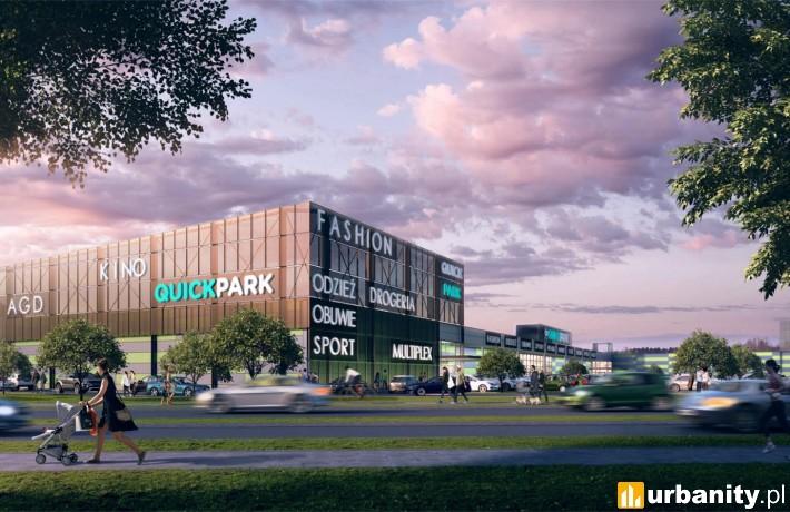 Quick Park Kępno - wizualizacja
