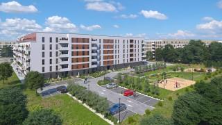 Wizualizacja osiedla Soleil de Malta w Poznaniu
