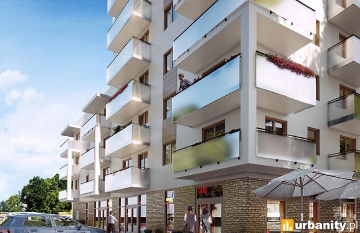 Projekt budynku H inwestycji Young City