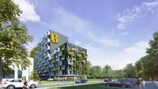 Projekt inwestycji B Urban we Wrocławiu