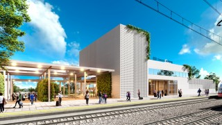 Nowy dworzec kolejowy w Chełmie - wizualizacja