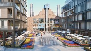 Projekt kompleksu Elektrownia Powiśle w Warszawie