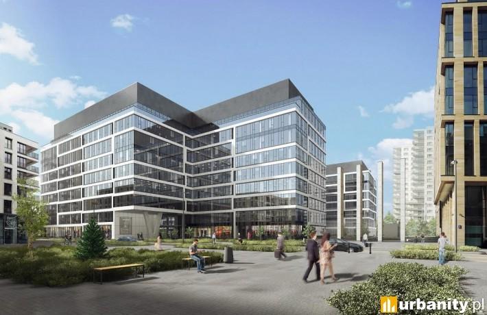 Wizualizacja II etapu kompleksu Gdański Business Center